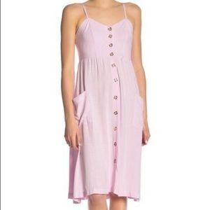 NWT Good Luck Gem Linen Midi Dress